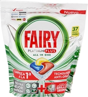 FAIRY PLATINUM PLUS ALL IN ONE | Mejores Detergentes para Lavavajillas 2020 | OCU