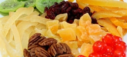 Conoce la fruta deshidratada
