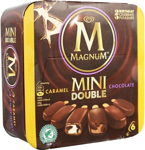 FRIGO-MAGNUM MINI DOUBLE CHOCOLATE | Test y Opiniones FRIGO-MAGNUM MINI DOUBLE CHOCOLATE | OCU
