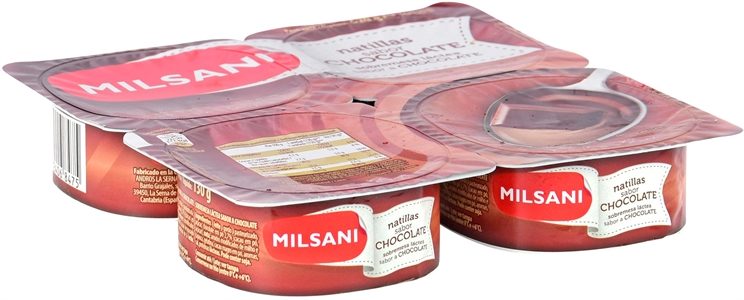 MILSANI (ALDI) NATILLAS SABOR CHOCOLATE. | Test y Opiniones MILSANI (ALDI) NATILLAS SABOR CHOCOLATE. | OCU