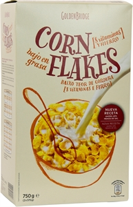 GOLDEN BRIDGE (ALDI) CORN FLAKES. | Test y Opiniones GOLDEN BRIDGE (ALDI) CORN FLAKES. | OCU